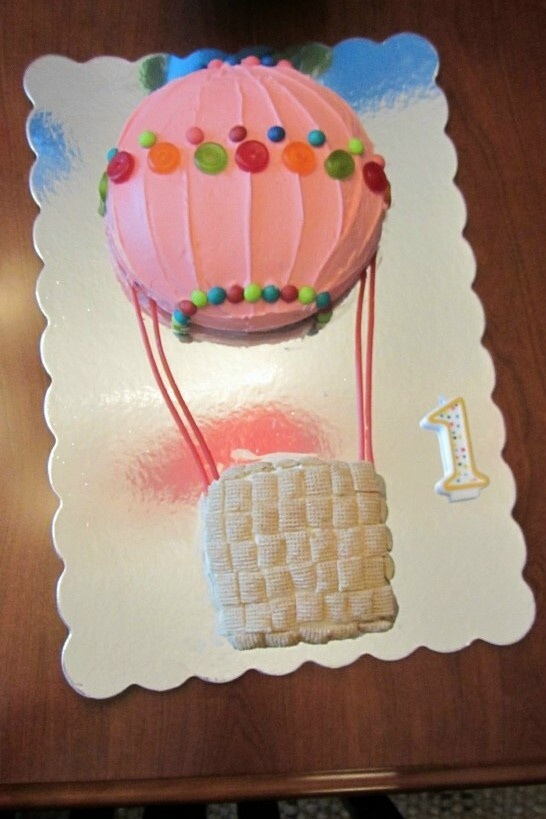 Hot air balloon cake Birthday Pinterest