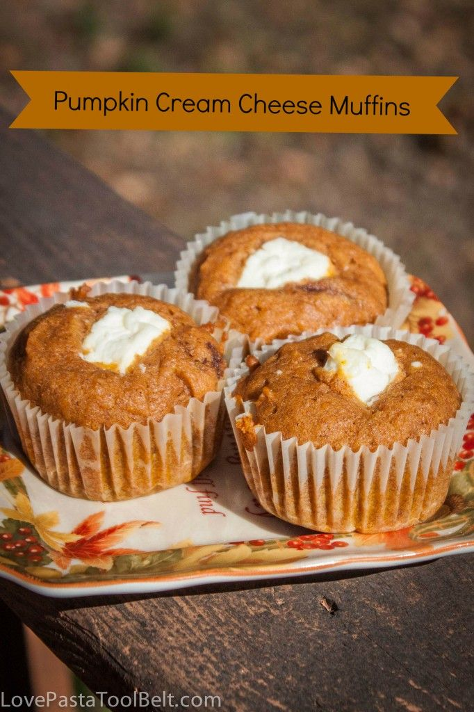 Pumpkin Cream Cheese Muffins: CLICK ON LINK #41 @ The Weekend re-Treat ...