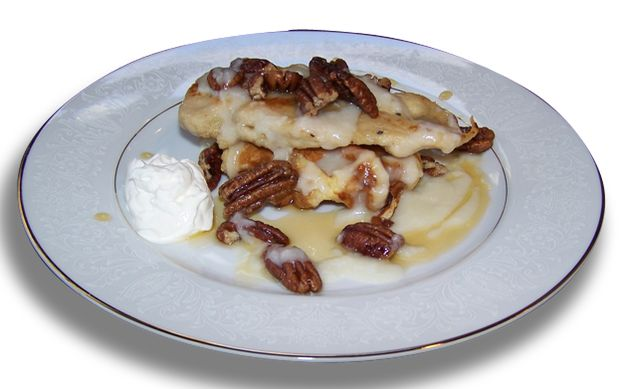 ... savory and sweet Chicken and Waffles for National Waffle Day, today
