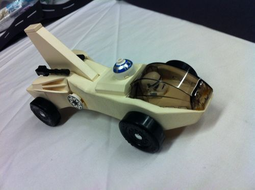 Star wars lego pinewood derby car imperial intruder for Pinewood derby templates star wars