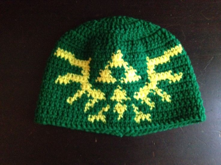 Royal crest hat #crochet #legendofzelda #zelda www.facebook.com ...