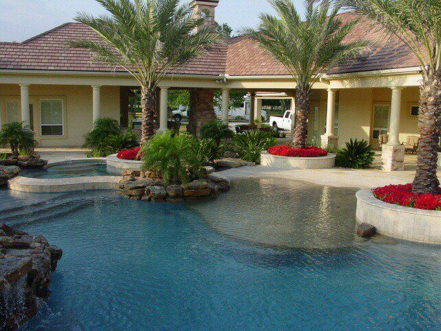 25 impressive small backyard pools houston for Pool design houston tx