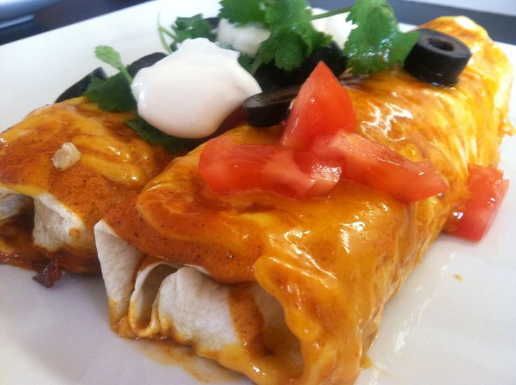 Not your average enchilada. These chicken enchiladas are packed full ...