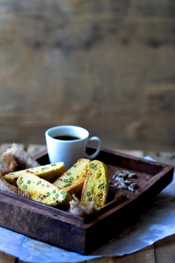 Saffron & Pistachio Biscotti 1 | Hmmmm... COFFEE, CAPPUCCINO, CHOCOLA ...