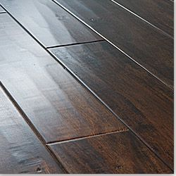 wood floor hardwood vs laminate