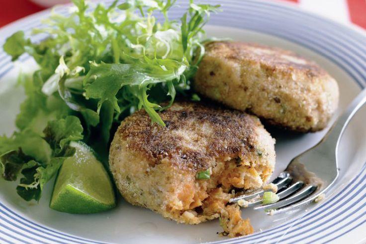 Salmon and sweet potato patties | recipes | Pinterest