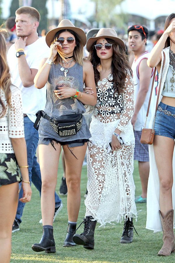 21 celebrities who looked fabulous at the Coachella Music Festival.