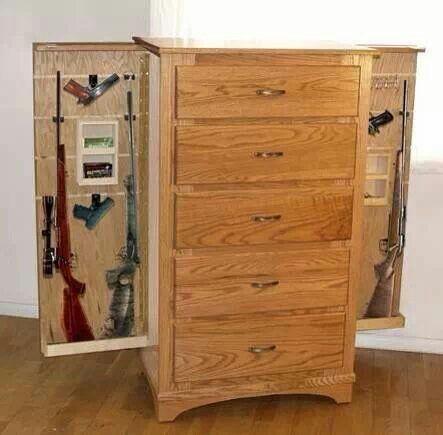 Dresser With Hidden Gun Compartments Furniture Buy