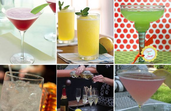 entertaining summer cocktails