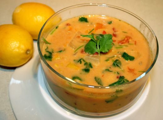 think I'm going to make my Coconut Red Lentil Soup spicy and with a ...