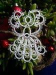 Crochet angel - Christmas ornament