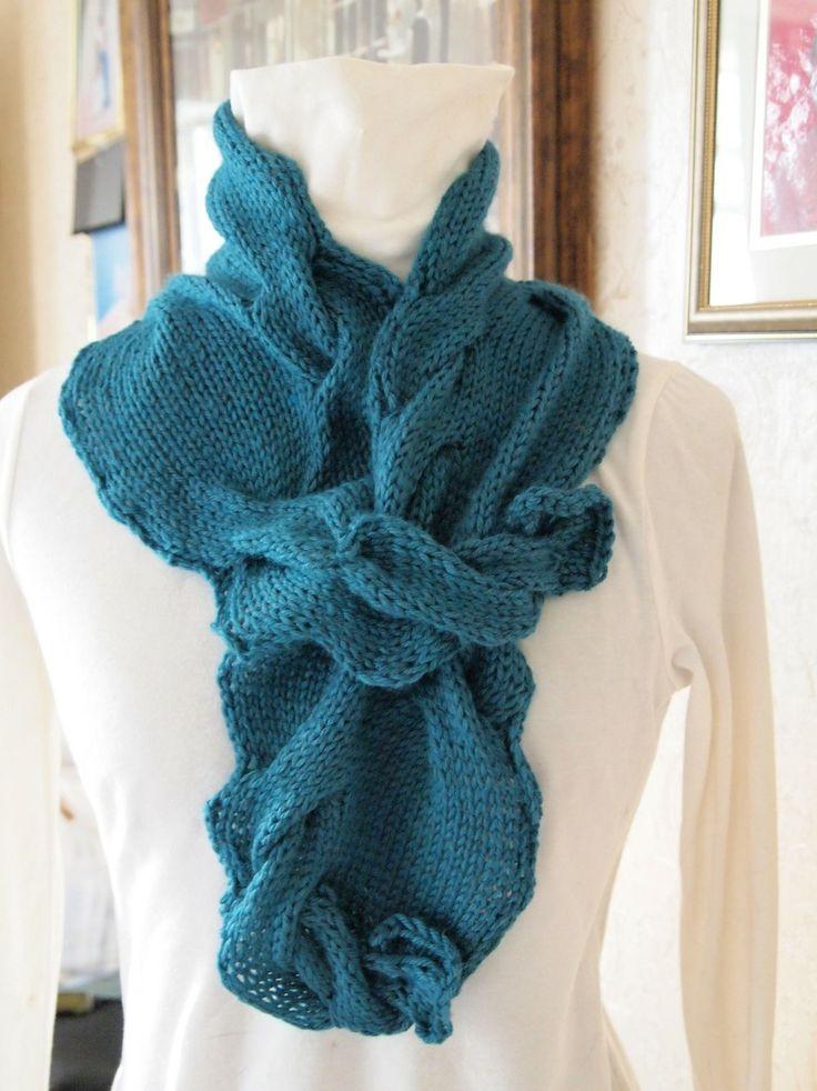 Hand Knitting Patterns : Serpents Tail PDF Hand Knitting Pattern by KnitChicGrace on Etsy, $4 ...