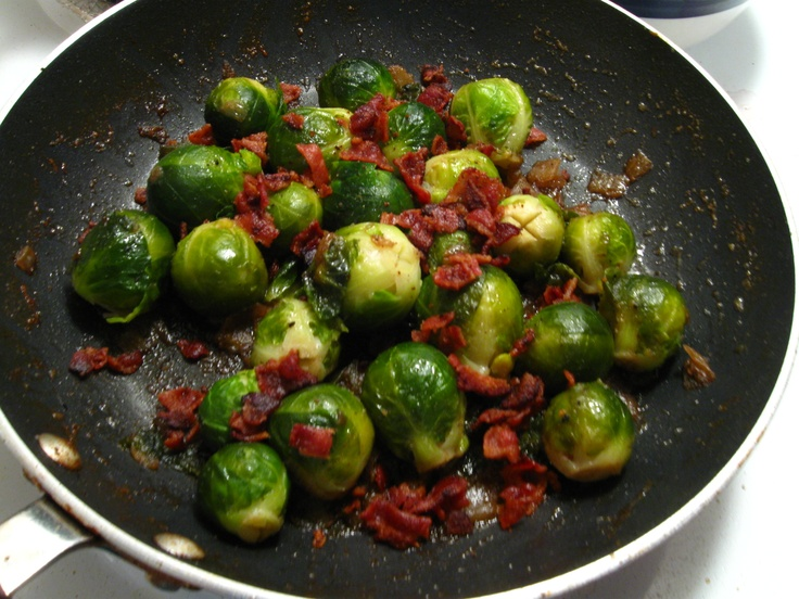 Braised Brussels Sprouts In Mustard Sauce Recipe — Dishmaps