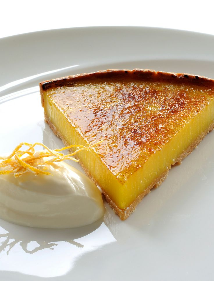 This fresh, zesty glazed lemon tart recipe from Robert Thompson is ...