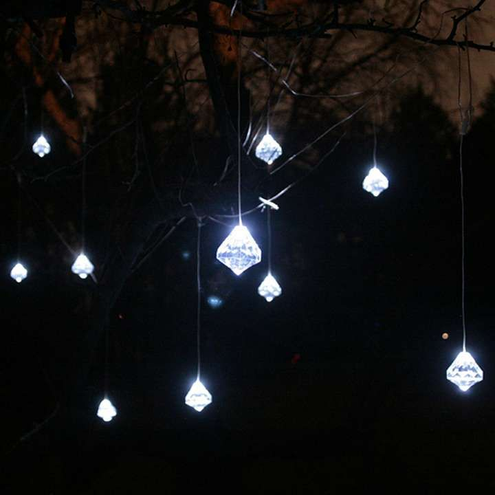 Solar String Lights For Trees : Pin by Adri Prettyjumbles on Home outdoor style Pinterest