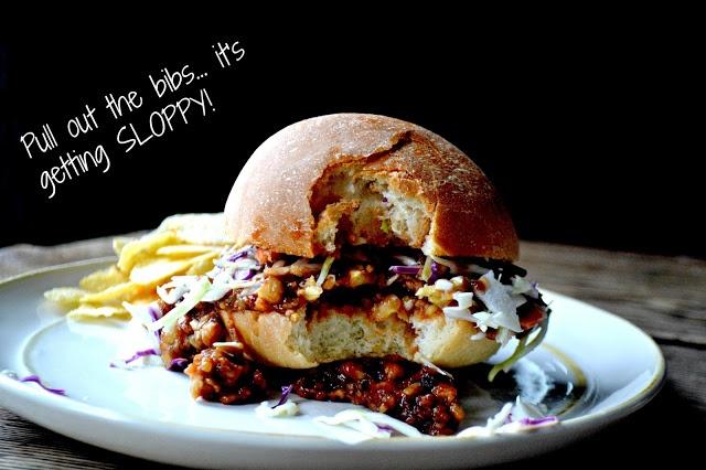 Tempeh Sloppy Joes | Meal Ideas! | Pinterest