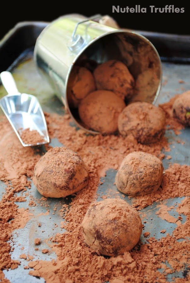 Nutella Chocolate Truffles Recipe — Dishmaps