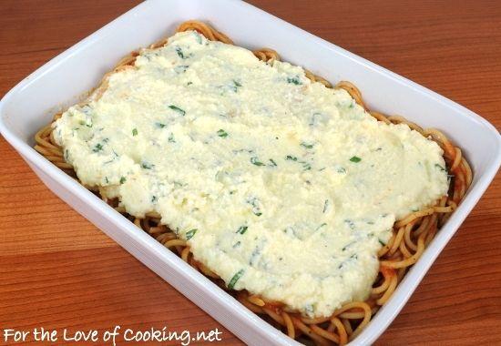 baked spaghetti | party | Pinterest