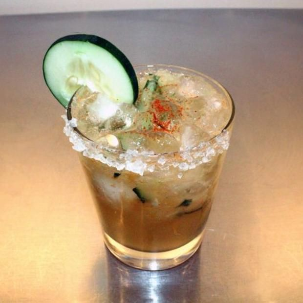 El Guapo Cocktail Recipe With Mezcal | Get your Drank on | Pinterest