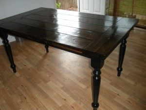 Restaining a kitchen table a touch of home pinterest Restaining kitchen table