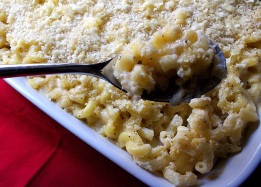Truffle Oil Macaroni & Cheese - using Gruyere, cheddar and fontina ...