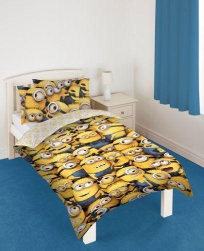 despicable me 2 minions single duvet cover bedding set