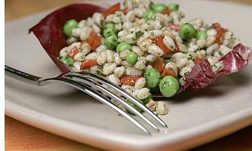 Farro salad via @Library of Sew Angeles Times