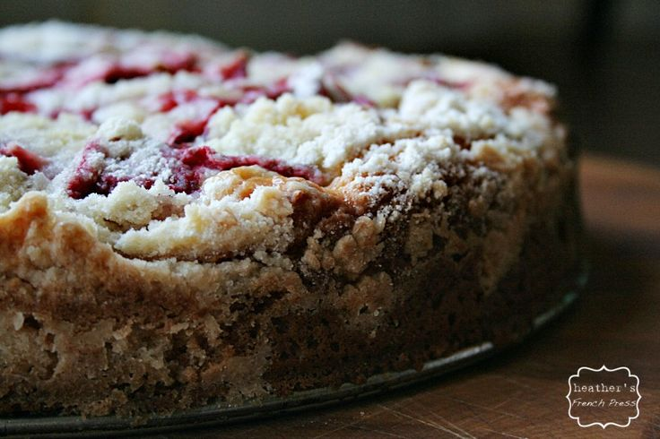 Strawberry and Cream Cheese Coffee Cake ~adapted from The Baker Upsta ...