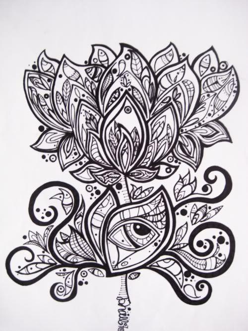 trippy lotus