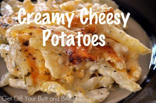 Creamy Cheesy Potatoes   Recipe Devil   Recipes   Pinterest