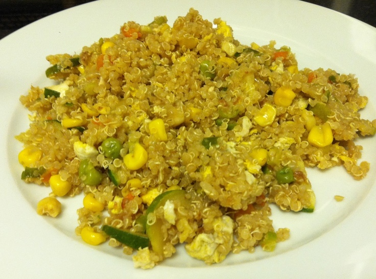 Quinoa Fried Rice. | All sorts of yum. | Pinterest