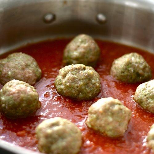Herbed Turkey Meatballs | Tasty Treats | Pinterest