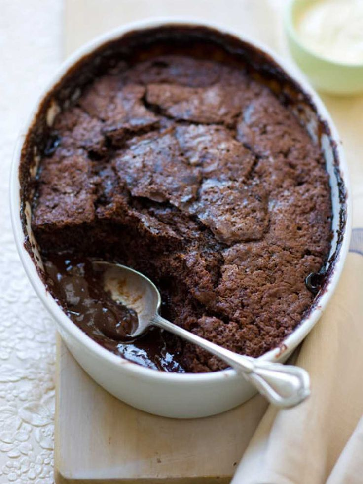 Self Saucing Chocolate Puddings - Cooking with Tenina