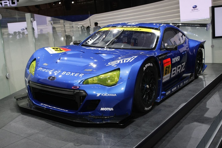"SUBARU BRZ GT300 ""Proud of BOXER"" Cars"