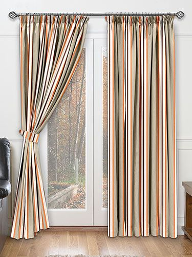 Burlington Coat Factory Curtains Burnt Orange Ottomans