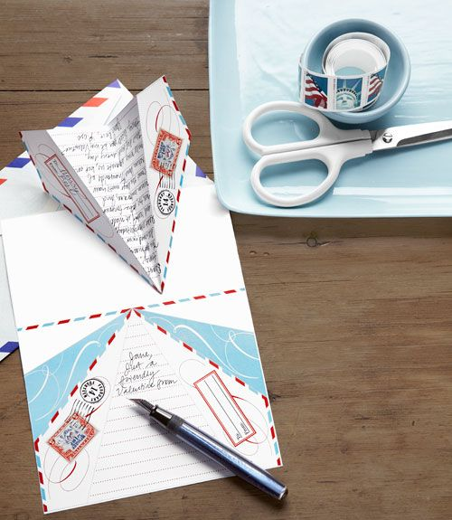 Paper Airplane Stationary