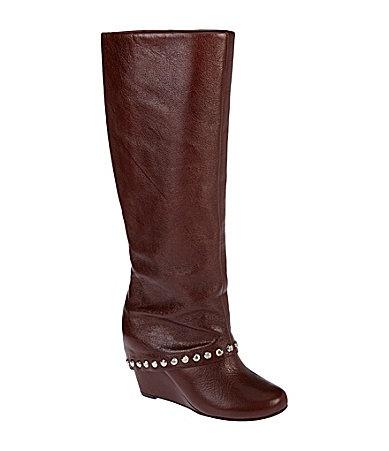 bcbgeneration walla wedge boots dillards clothes