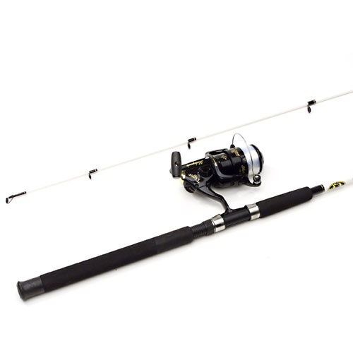 Shakespeare tiger 7 39 spinning rod and reel combo for Shakespeare tiger fishing reel