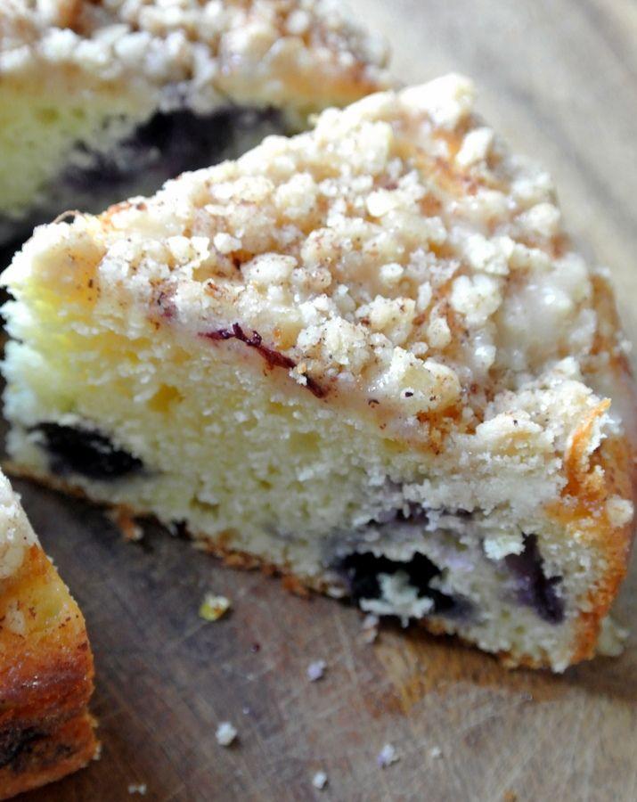TRY...Blueberry Lemon Crumb Coffee cake