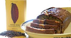BANANA NIBBY BREAD - Roasted cacao nibs add a nutty and pleasing ...