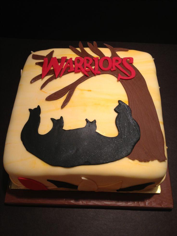 warrior cat cake