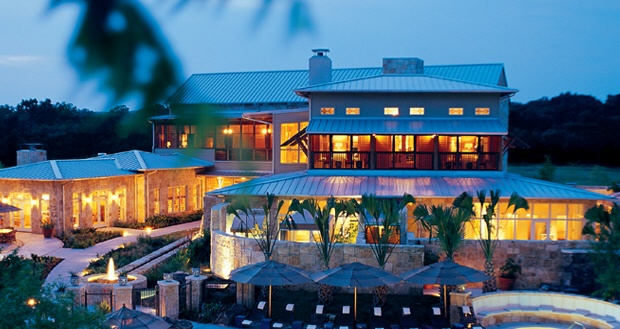 Lake austin resort spa heart of texas pinterest for Top spa resorts in texas