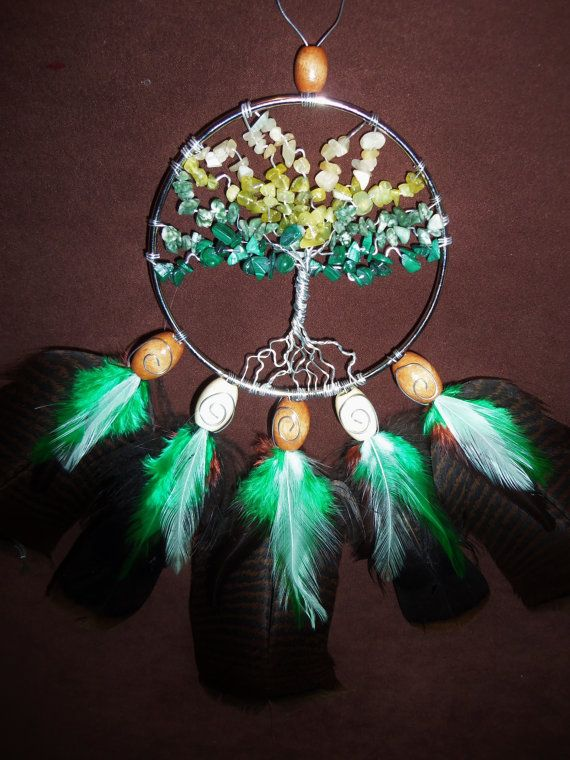 Dream Catcher- Tree of Life- Silver Dream Catcher- Made to Order on ...