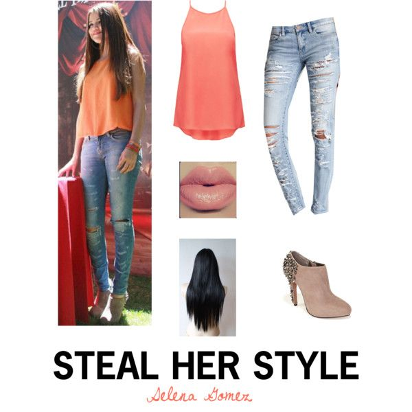 selena gomez steal her style fashion look from January 2014 ...