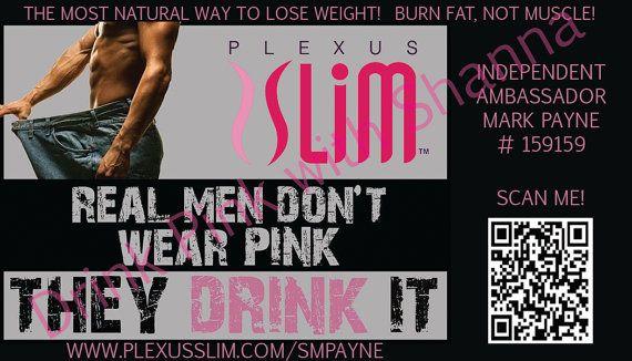 Plexus Slim Business Card by DrinkPinkwithShanna on Etsy, $6.00