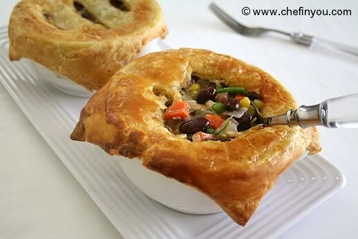 Vegetarian Pot Pies | Eat stuff | Pinterest