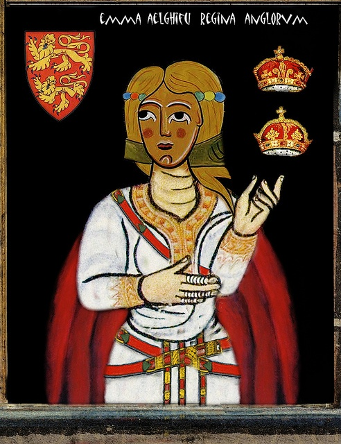 EMMA ELGIFU OF NORMANDY     QUEEN OF ENGLAND by the lost gallery, via Flickr