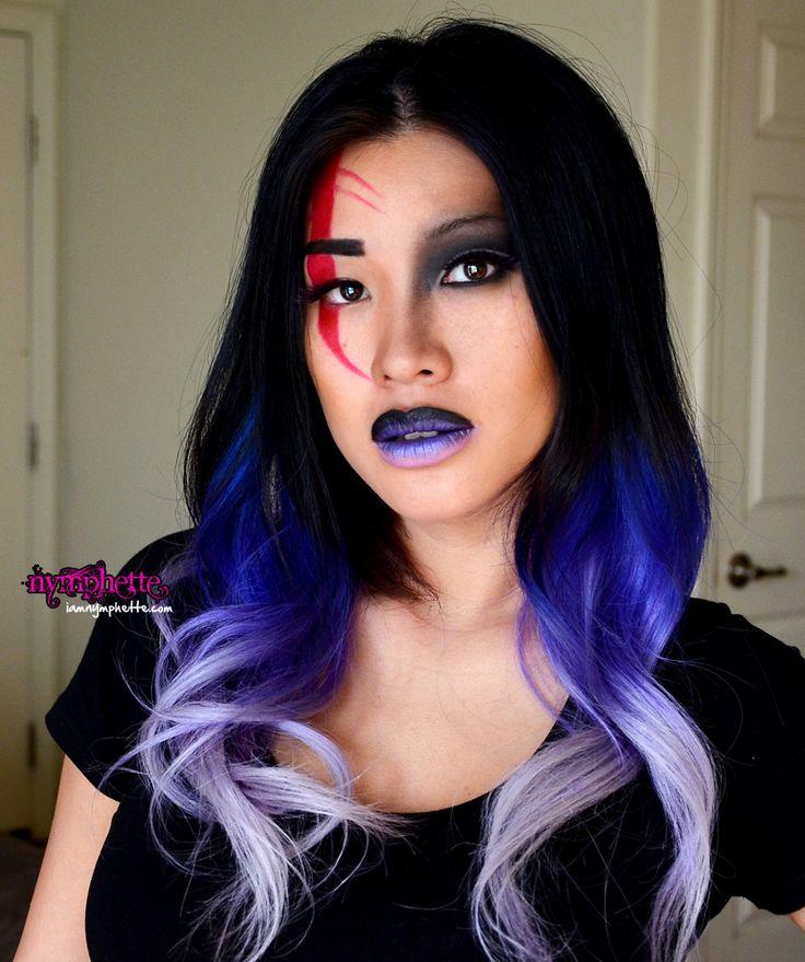purple tips asain hair 23 ombre hair color ideas to
