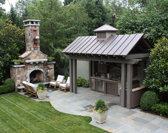 Pin by phyllis mccay on outdoor kitchen pinterest for Outdoor kitchen ideas pinterest