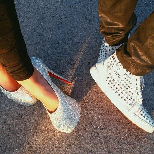 His & hers Christian Louboutin